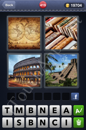 4 Pics 1 Word Level 419 Solution