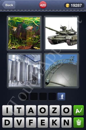 4 Pics 1 Word Level 420 Solution