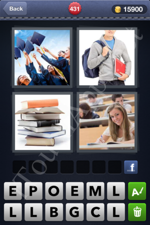 4 Pics 1 Word Level 431 Solution