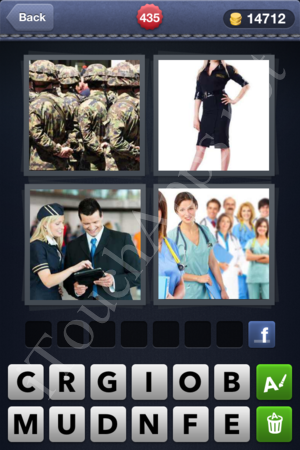 4 Pics 1 Word Level 435 Solution