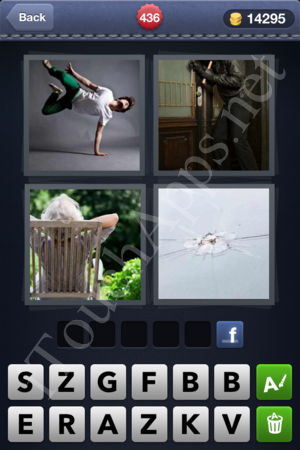 4 Pics 1 Word Level 436 Solution