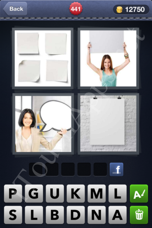 4 Pics 1 Word Level 441 Solution