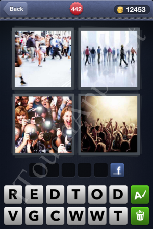 4 Pics 1 Word Level 442 Solution