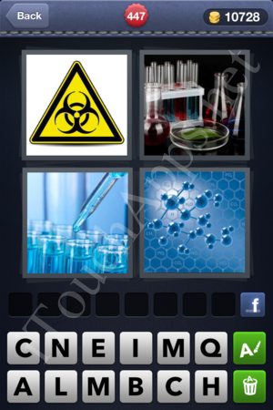 4 Pics 1 Word Level 447 Solution