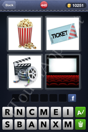 4 Pics 1 Word Level 448 Solution