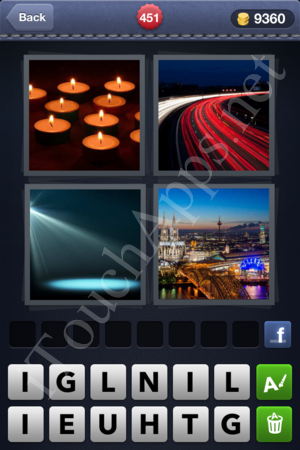 4 Pics 1 Word Level 451 Solution