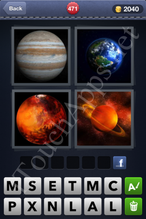 4 Pics 1 Word Level 471 Solution