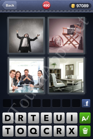 4 Pics 1 Word Level 490 Solution