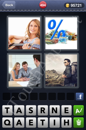 4 Pics 1 Word Level 494 Solution