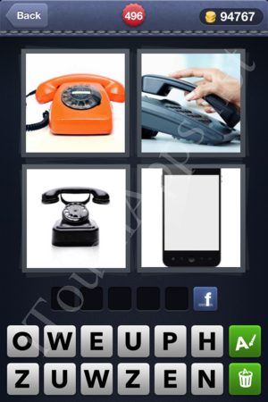 4 Pics 1 Word Level 496 Solution
