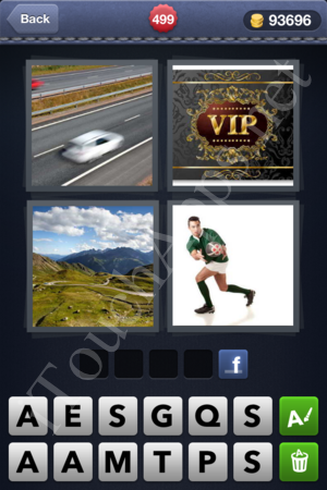 4 Pics 1 Word Level 499 Solution