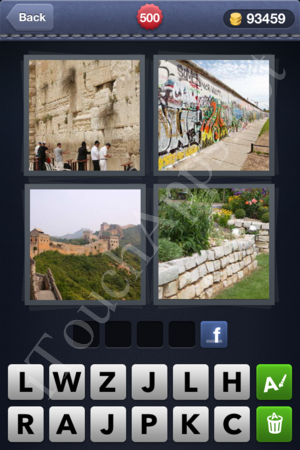 4 Pics 1 Word Level 500 Solution