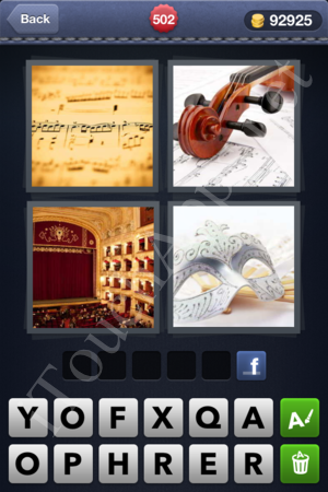 4 Pics 1 Word Level 502 Solution