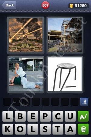 4 Pics 1 Word Level 507 Solution