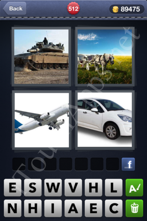 4 Pics 1 Word Level 512 Solution