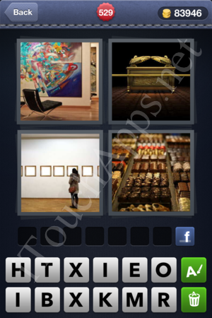 4 Pics 1 Word Level 529 Solution