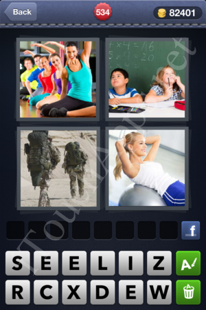 4 Pics 1 Word Level 534 Solution