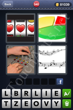 4 Pics 1 Word Level 540 Solution