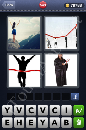 4 Pics 1 Word Level 543 Solution