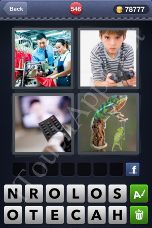 4 Pics 1 Word Level 546 Solution