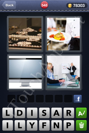 4 Pics 1 Word Level 548 Solution