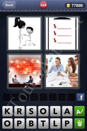 4 Pics 1 Word Level 549 Solution