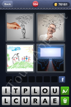 4 Pics 1 Word Level 554 Solution