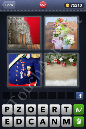 4 Pics 1 Word Level 557 Solution