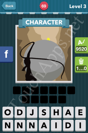 Icomania Level 69 Solution