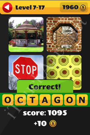 What's That Word Level 7-17 Solution