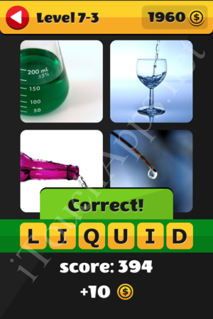 What's That Word Level 7-3 Solution