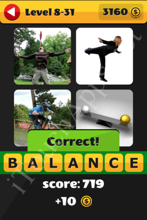 What's That Word Level 8-31 Solution