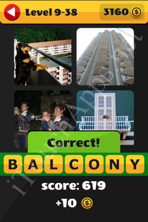 What's That Word Level 9-38 Solution