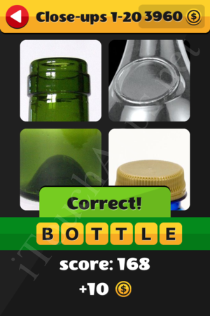 What's That Word Close-ups Level 1-20 Solution