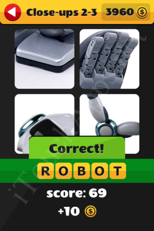 What's That Word Close-ups Level 2-3 Solution