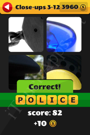 What's That Word Close-ups Level 3-12 Solution