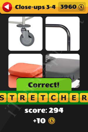 What's That Word Close-ups Level 3-4 Solution