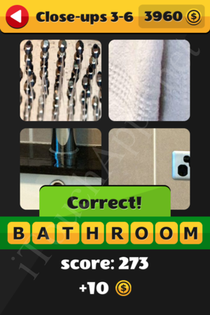 What's That Word Close-ups Level 3-6 Solution