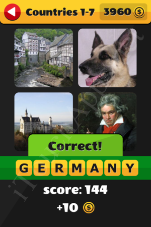 What's That Word Countries Level 1-7 Solution