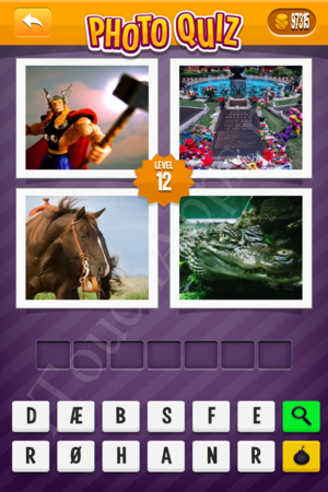 Photo Quiz Denmark Pack Level 12 Solution