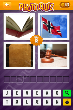 Photo Quiz Denmark Pack Level 18 Solution
