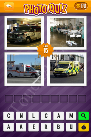 Photo Quiz Easy Pack Level 15 Solution