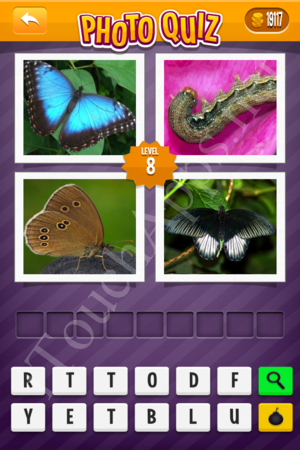 Photo Quiz Easy Pack Part 2 Level 8 Solution