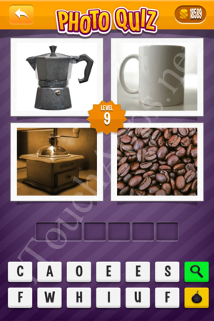 Photo Quiz Easy Pack Part 2 Level 9 Solution