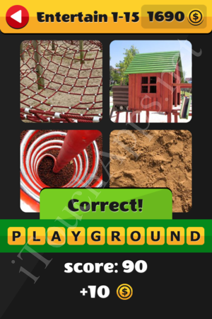 What's That Word Entertainment Level 1-15 Solution