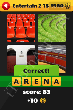 What's That Word Entertainment Level 2-18 Solution