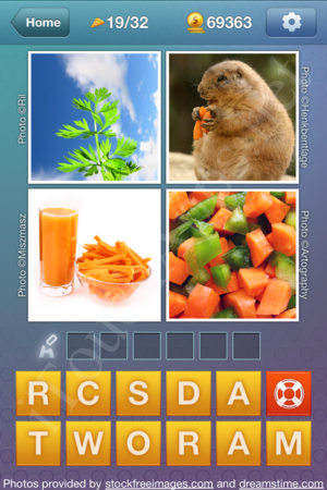 What's the Word Food and Cooking Level 19 Solution