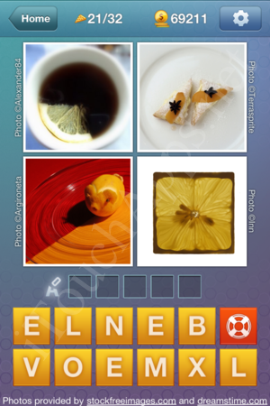 What's the Word Food and Cooking Level 21 Solution