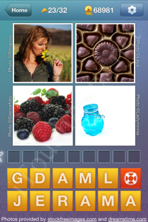 What's the Word Food and Cooking Level 23 Solution