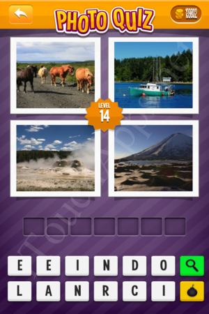 Photo Quiz Geography Pack Level 14 Solution